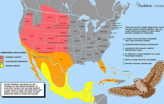 Rockie's Migration Map