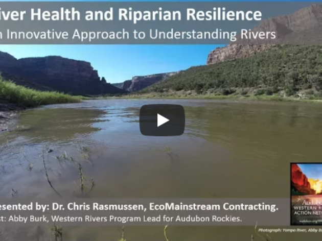 River Health and Riparian Resilience