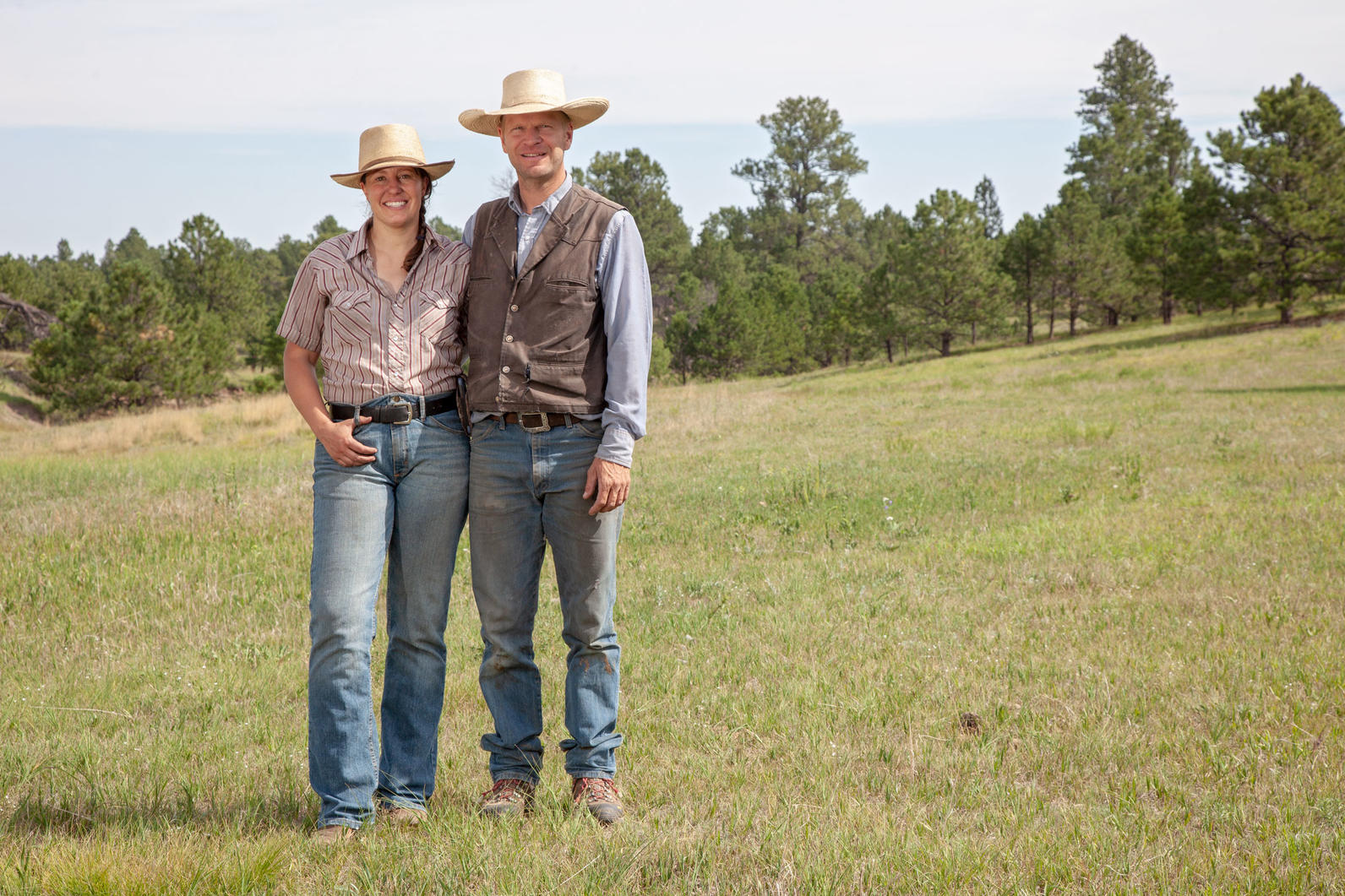 Dan Lorenz and Adrienne Larrew, co-founders and owners of Corner Post Meats.