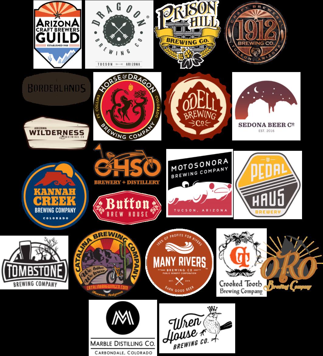 Western Rivers Brewers' Council Member Logos