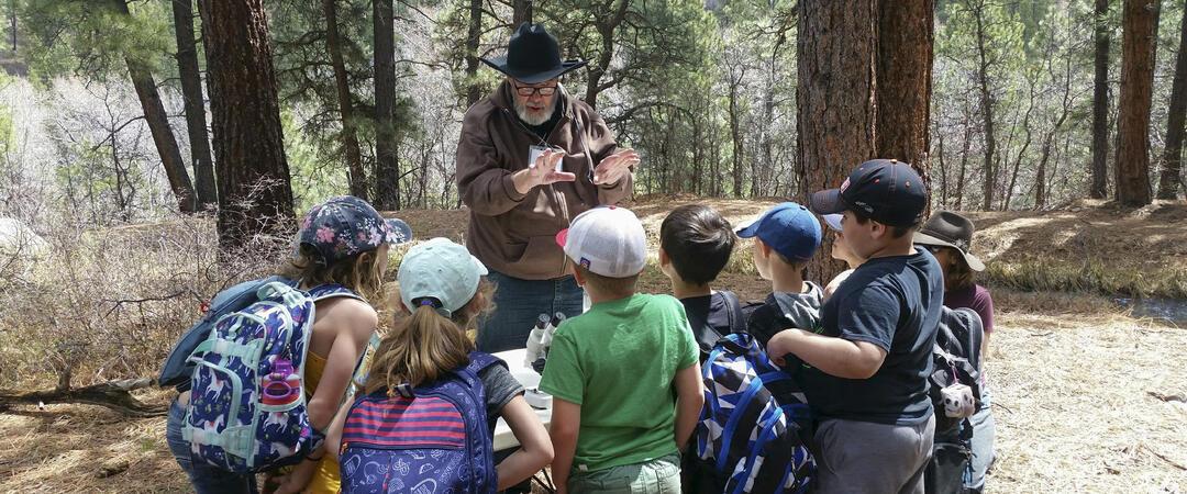 Volunteer Community Naturalist at Four Mile Ranch.