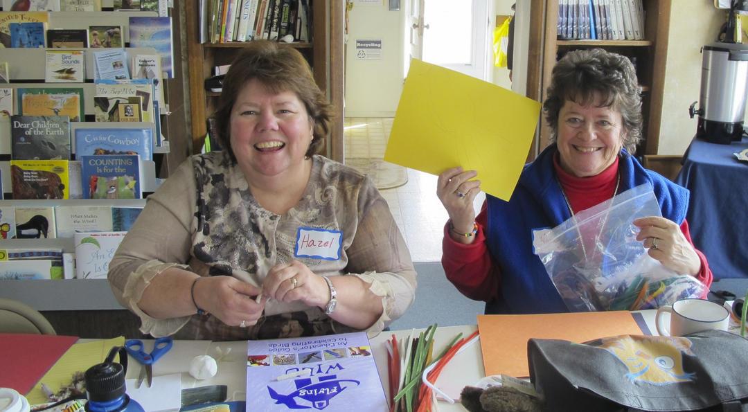 Teachers at workshop